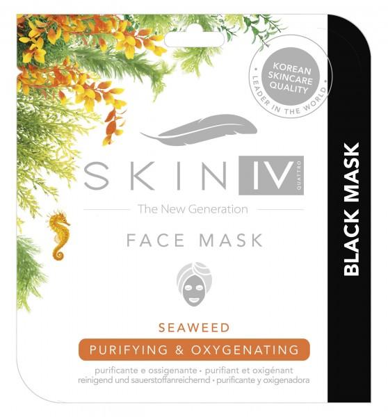 Black Mask Algen-Gesichtsmaske