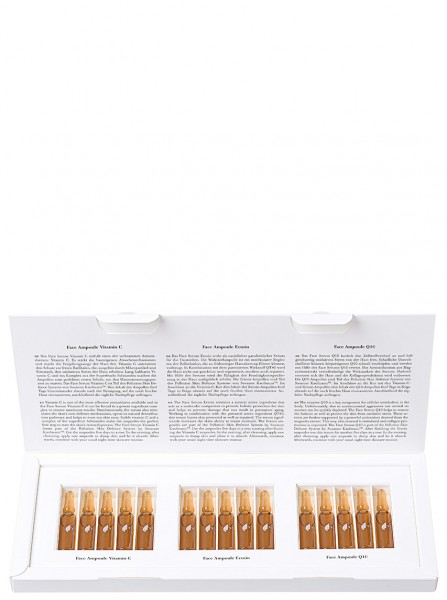 Pollution Skin Defence System - Vitamin C, Ectoin, Q10 Ampoules