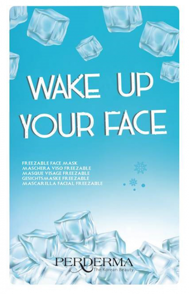 Wake up your Face - Freezable Face Mask