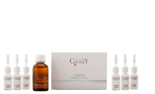 CHOLLEY Clearing Ampoules (6x5ml) & Lotion